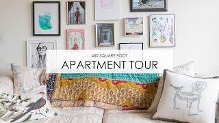 Apartment Tour: Boho Style in 480 Square Feet
