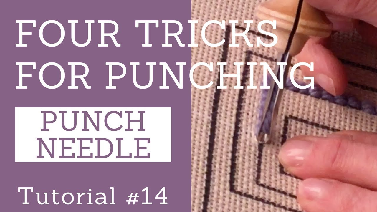 Four Tricks For Punch Needle Rug Hooking