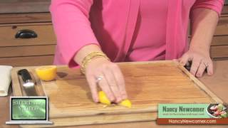 Smart Tips - How To Clean Your Cutting Board By Nancy Newcomer