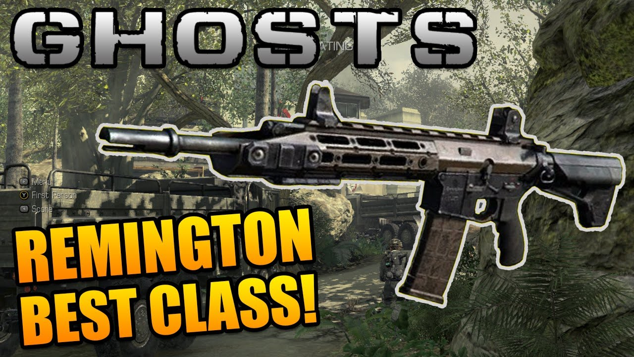 """Call of Duty Ghosts: """"Remington R5"""" Best Class Setup ...  Call of Duty Gh..."""