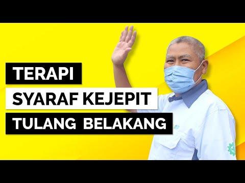 PAZ Syaraf Kejepit Punggung Kiri. Pada Kasus bapak ini, 'tidak selesai' oleh sebab beliau sudah pern.