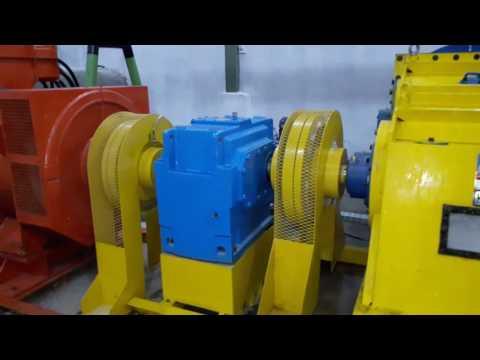 Cross flow turbine and digital flow controller @500kW