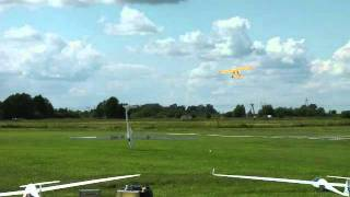 rc model 7 m nimbus wypadek crash
