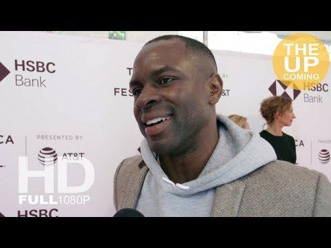 Gbenga Akinnagbe  on Egg at premiere – Tribeca Film Festival 2018