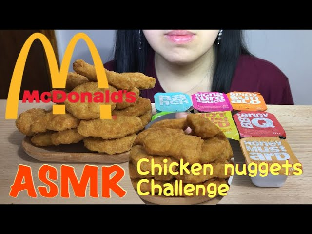 Asmr Mcdonald S Chicken Nuggets Challenge Auzsome Austin S Sas Asmr Crunchy Eating Sounds