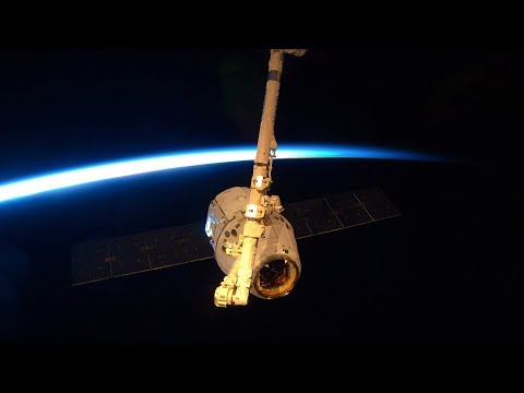 LIVE Space X Dragon CRS-14 Approach Capture And Installation To The ISS