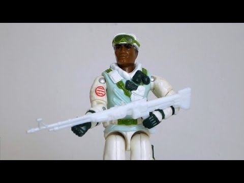 1986 Iceberg (Snow Trooper) G.I. Joe review