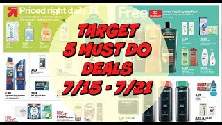5 MUST DO TARGET DEALS 7/15 - 7/21   FREE Hair Care, Cheap Razors & more!