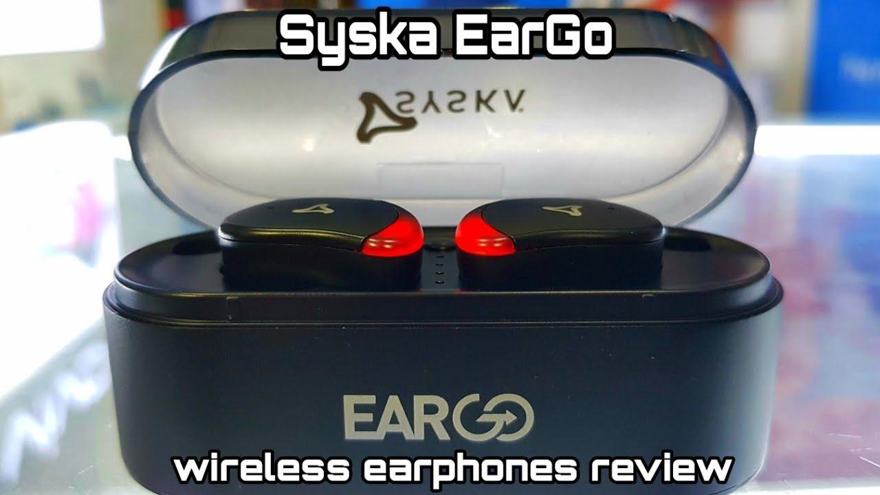 611802f2633 Syska EarGo wireless earphones review | IEB100-BK - YouTube