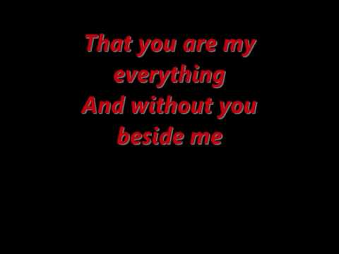 You are my everything Boyz II Men lyrics