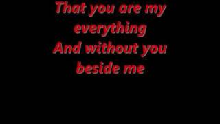 You are my everything Boyz II Men  lyrics
