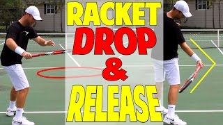 Tennis Topspin Secret - Racket Drop & Release