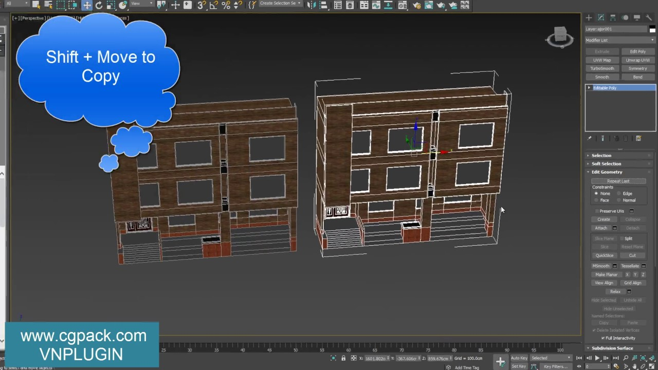 Convert 3D Model to 2D plan in 3ds Max