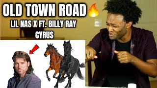 Lil Nas X - Old Town Road (feat. Billy Ray Cyrus)  REACTION!! Video