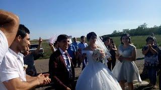 Греческая свадьба, молодожены Тимур и Нина, часть 1