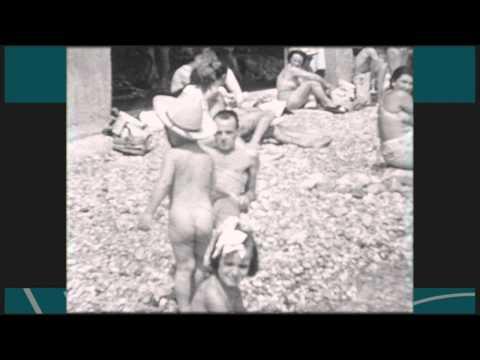 Baignade au Port de Monaco - 1954