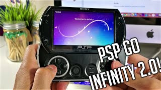 How to Hack PSP GO Using Apple iMac - Infinity 2.0 Permanent Custom Firmware - EASY Tutorial 2020