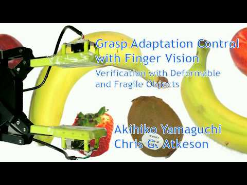 FingerVision enables industrial robotic gripper to grasp deformable and fragile objects