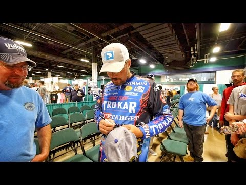 The other side of being Bass Pro - Talking Bass Fishing and Hanging with the FANS