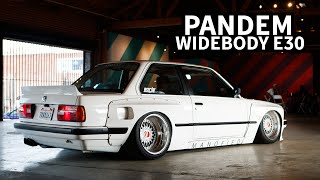The Cleanest SLAMMED BMW E30?? Pandem Kitted 3.8L Swapped 3 Series