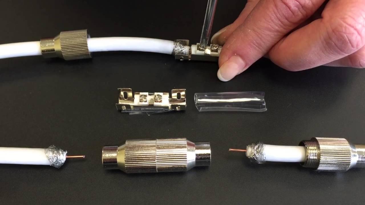 Antennenkabel Verbinden