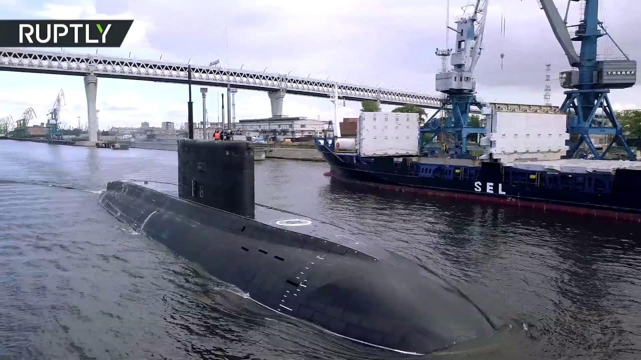 Новейшая подлодка «Петропавловск-Камчатский» вышла на заводские испытания