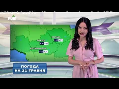 Телеканал Київ: Погода на 21.05.19