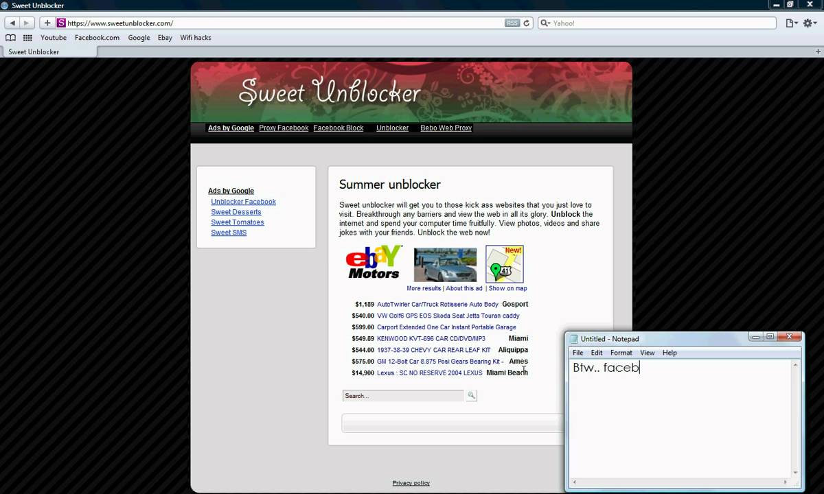 How To Unblock Any Website In School 100% Working