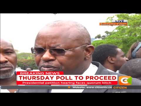 Judges absence a complete violation of the constitution- Harun Ndubi