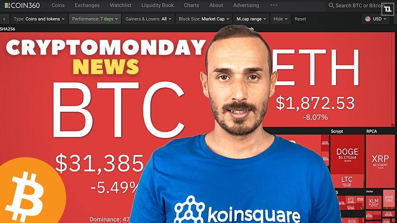 Settimana CRUCIALE per BITCOIN ed il Mercato Crypto - CryptoMonday NEWS w29/'21
