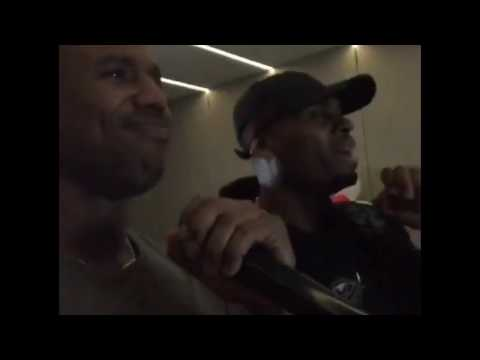 Michael B. Jordan In Seoul, South Korea (Singing Karaoke)
