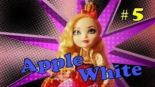 Обзор и история куклы Эппл Вайт, Эвер Афтер Хай - (Apple White, Ever After High)
