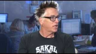 Noodles (The Offspring) was interviewed for TUT.BY Mp3