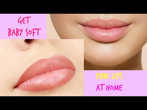 how to get pink lips naturally at home || Lighten your Dark Lips