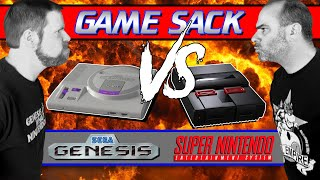 Sega Genesis VS Super Nintendo  Game Sack