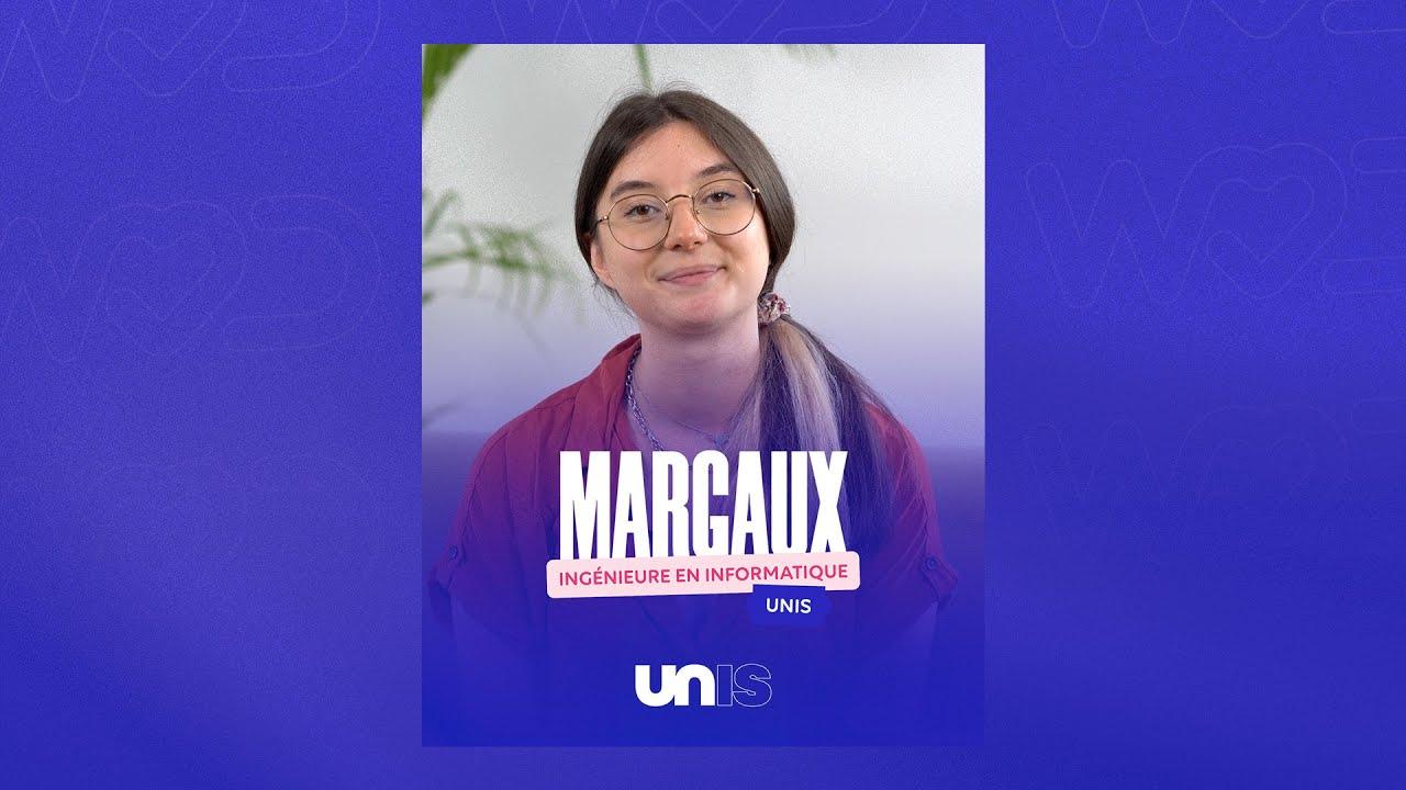 Rencontrez Margaux, Ingénieure en Informatique chez Unis -  HappyDevelopers