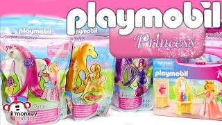 Playmobil Princess! Winter and Autumn Princess, Princess Horses with Brushable Hair and More!