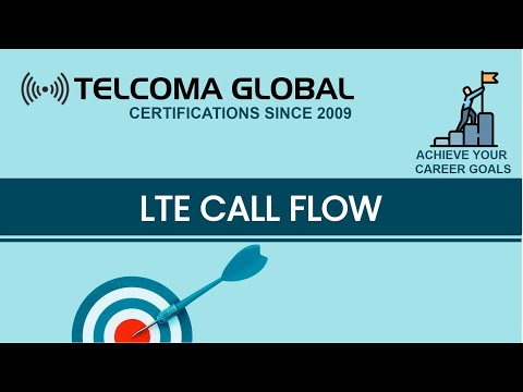 4G LTE Call Flow: End-to-end signalling