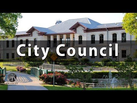 Granbury City Council 6/16/2015