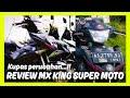 Modifikasi Mx King Supermoto || #motovlogindonesia #mxkingjinjit