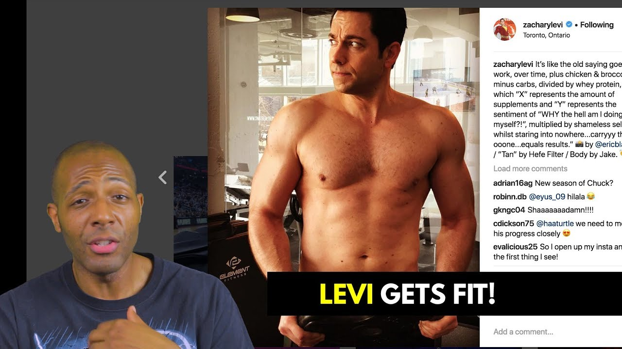 Zachary Levi Body
