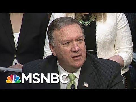 Mike Pompeo Still Briefed Mike Flynn On Secrets As CIA Knew Concerns: NYT | Rachel Maddow | MSNBC