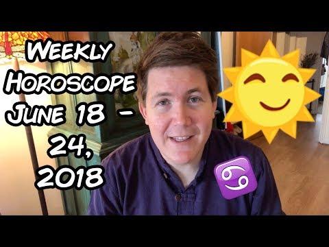 Weekly Horoscope for June 18 - 24, 2018 | Gregory Scott Astrology