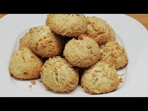 petits-gÂteaux-croquants-et-moelleux-aux-cacahuÈtes-Économique-et-facile-(cuisine-rapide)