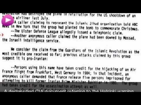 Pan Am Flight 103 Wikipedia travel guide video. Created by http://stupeflix.com