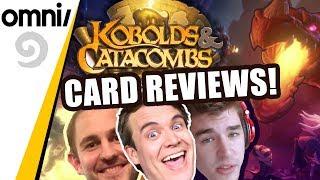 Kobolds & Catacombs Card Reviews! w/ Brian Kibler, Firebat & Zalae!