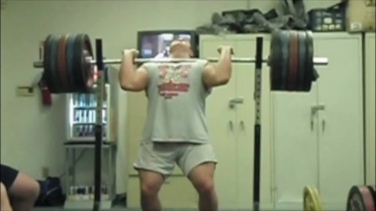 240 kg / 529 pound RAW front squat
