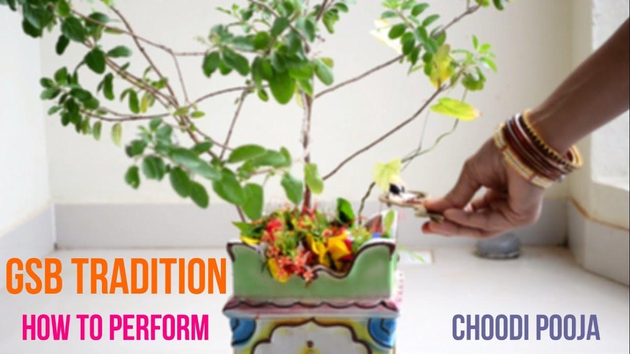 How to perform choodi pooja in shravana masu? |GSB Tradition| ||Creative  Indian Arts|| #2