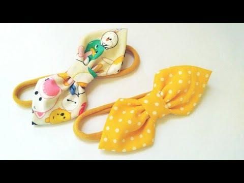 Baby Headband Ideas : Simple Bow Headband | DIY by Elysia Handmade