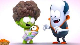 Güzel Bir Aile | Spookiz | Çocuklar İçin Çizgi Filmler